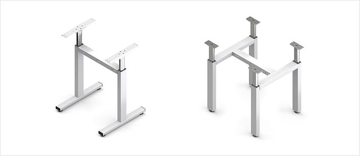 Höhenverstellbares Tischuntergestell TA – Ergoswiss AG