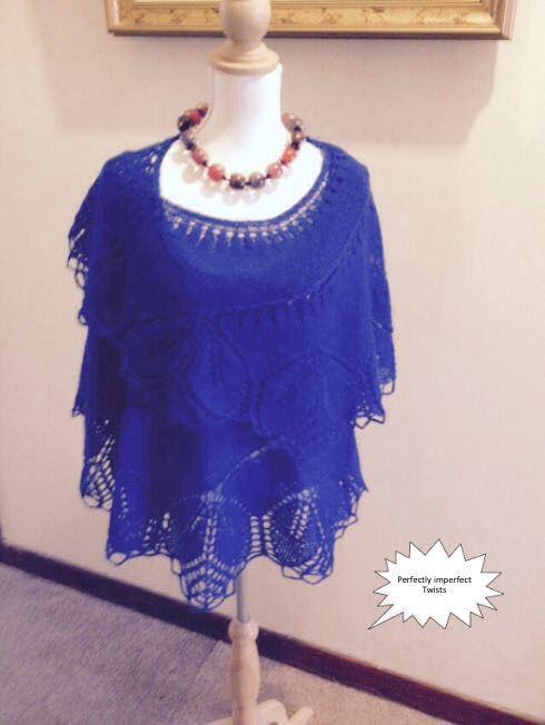 Begonia shawl