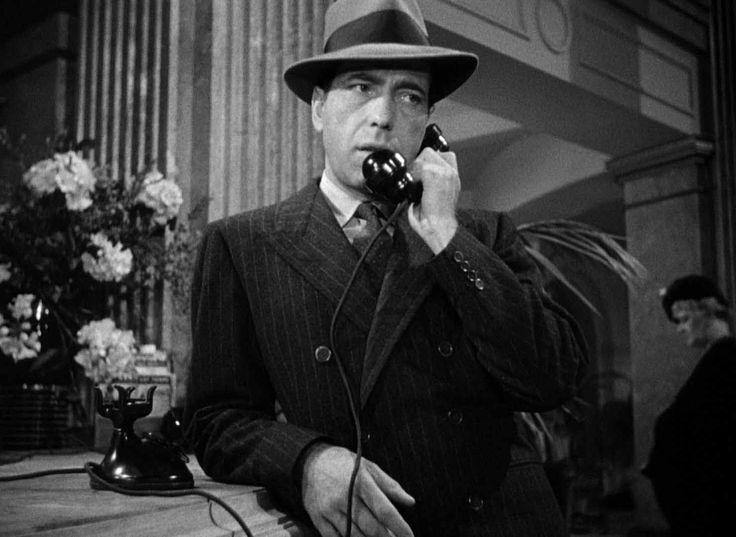 Image result for bogart on telephone