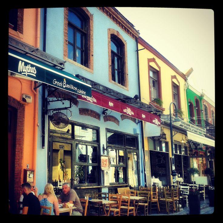 Λαδάδικα...Χρώματα και γεύσεις! #ladadika #thessaloniki #greece