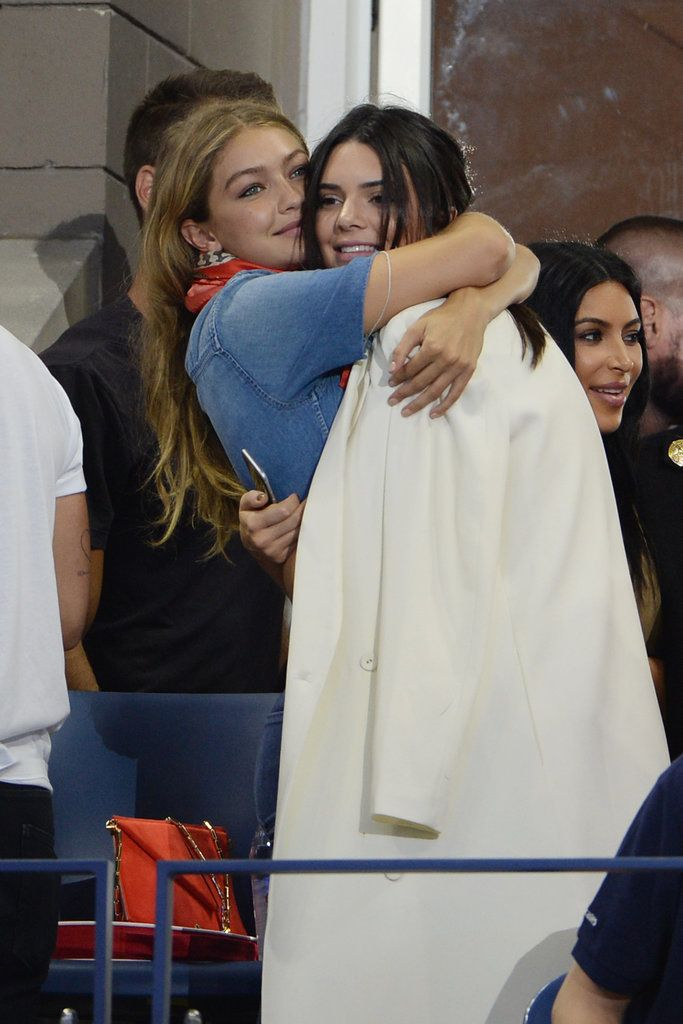 Kendall Jenner and Gigi Hadid are our favorite model BFFs.
