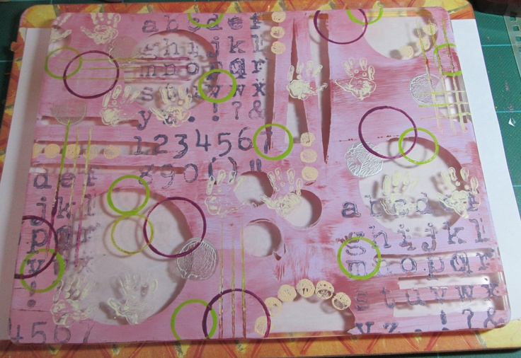 My first play with 'Gelli tape'