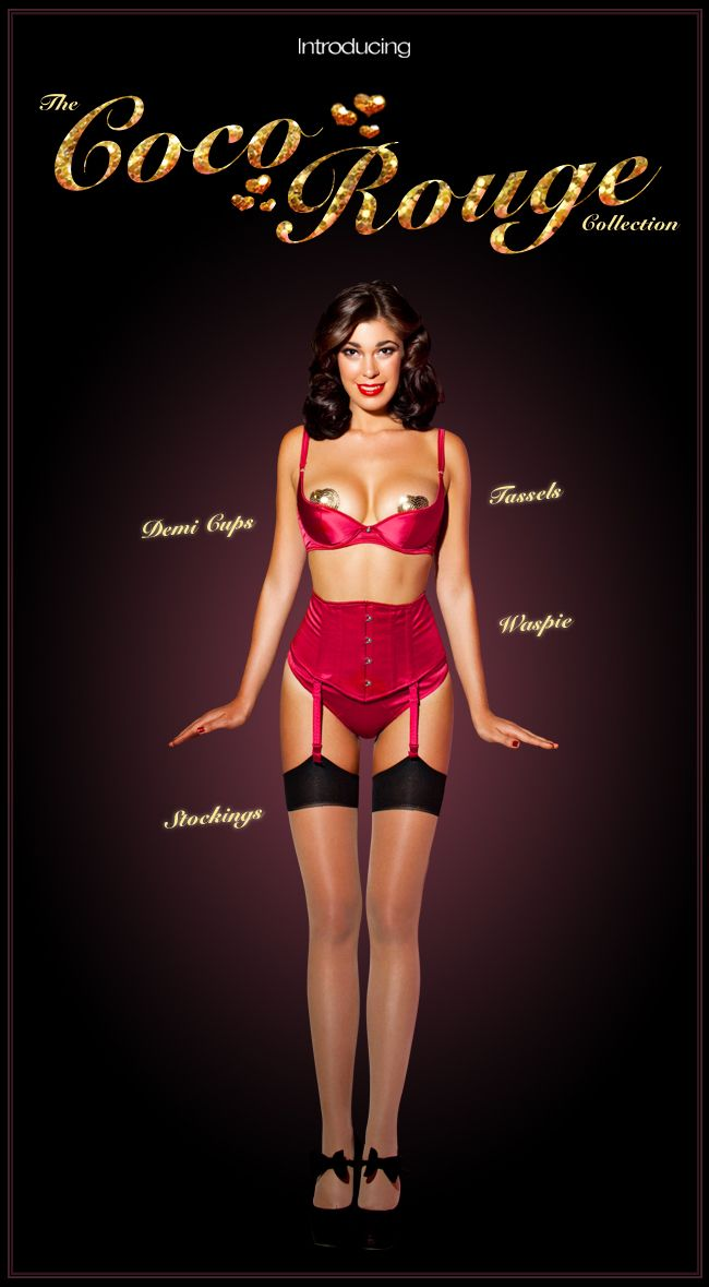 Coco Rouge Collection - Honey Birdette (Emailer)
