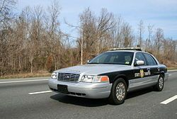 North Carolina highway patrol car Hawaii does not have a state police department