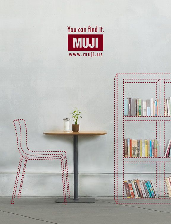 MUJI Magazine Ads on Behance