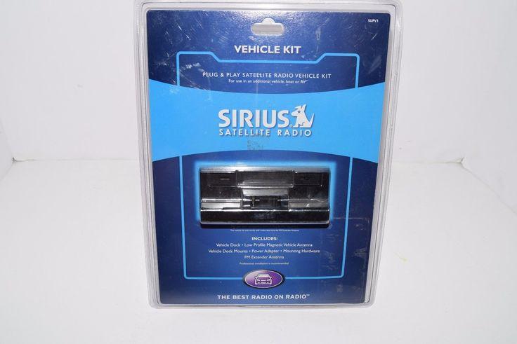Portable Satellite Radios: New In Package Sirius Satellite Radio Plug And Play Vehicle Kit Supv1 -> BUY IT NOW ONLY: $34.99 on eBay!