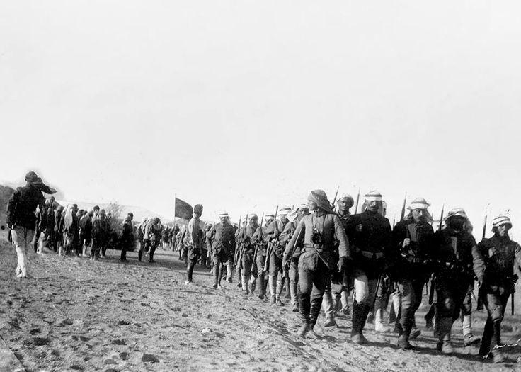 THE DEFENDERS OF MEDINA, OTTOMAN SOLDIERS IN MEDINA Medine Müdafii (Savunucuları) Osmanlı Askerleri