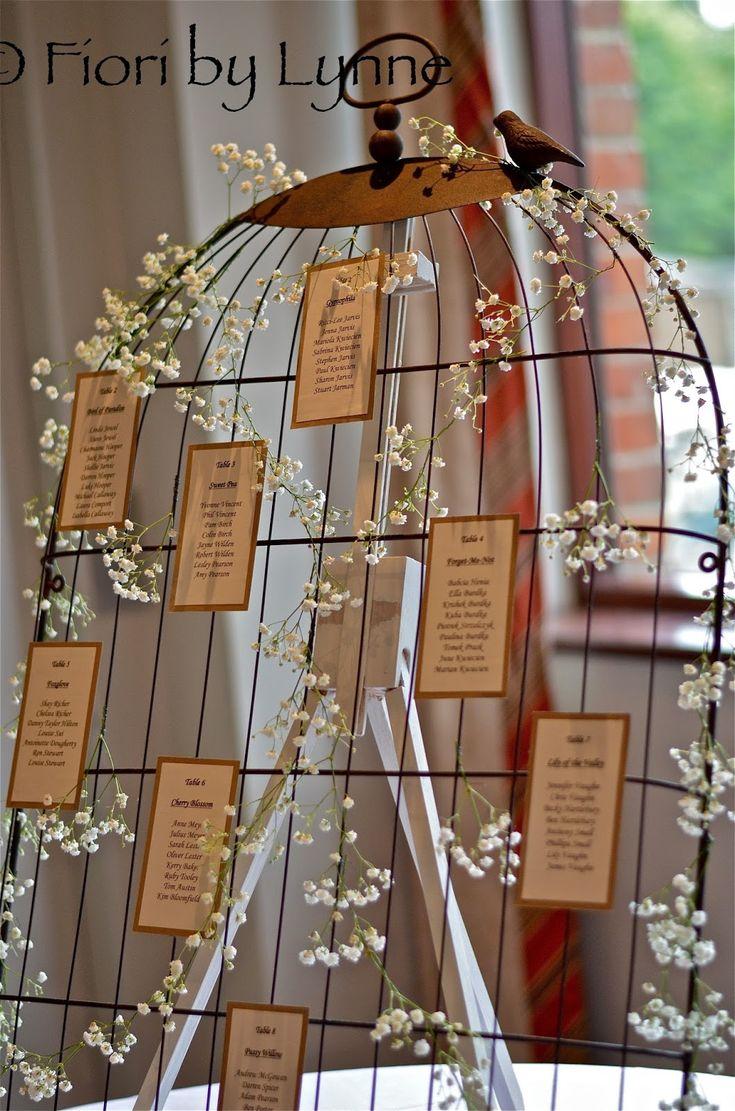 Bird cage table plan