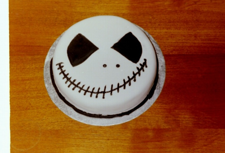 Nightmare before christmas birthday cake by me......