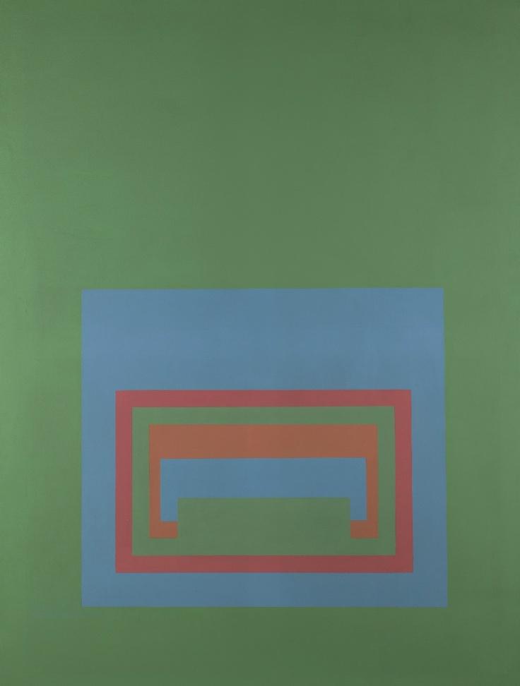 Robyn Denny--Flower Show I, 163x120cm, acrylic on canvas, 1969-70