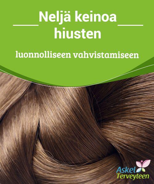 Neljä keinoa hiusten luonnolliseen vahvistamiseen   Hyvin hoidetut #hiukset pysyvät siistinä ja kauniina koko päivän ja niiden ylläpito on #helpompaa, takkuja ja #kaksihaaraisia syntyy vähemmän.  #Kauneus