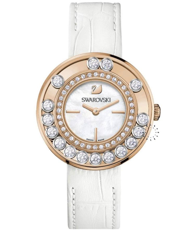 SWAROVSKI Lovely Crystals White And Rose Gold Τιμή: 449€ Τιμή Προσφοράς: 359€ http://www.oroloi.gr/product_info.php?products_id=35056
