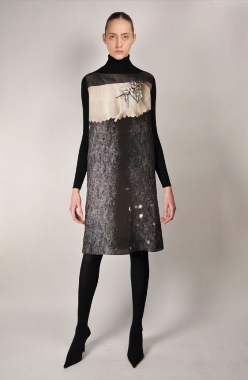Antoni & Alison Dress Grey Clown