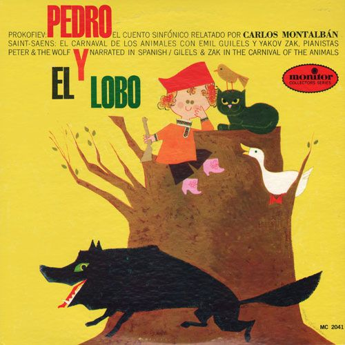 Peter and the Wolf: Carlos Montalbán (Monitor)