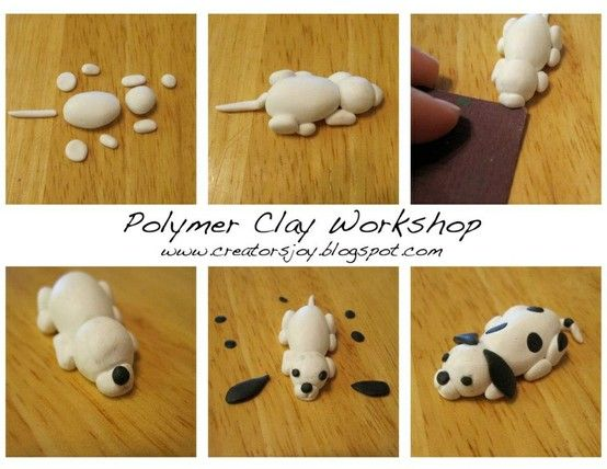 495 best images about polymer clay dogs and more on Pinterest ...
