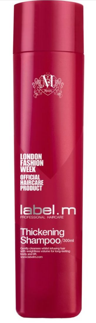 label.m thickening shampoo will help you achieve the #thick #full hair you have always wanted!