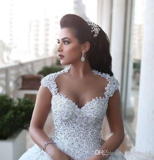 Свадебное платье из бисера своими руками