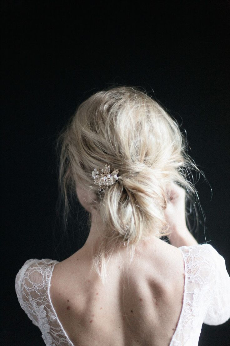 Taking the messy bun to a new level of gorgeous!