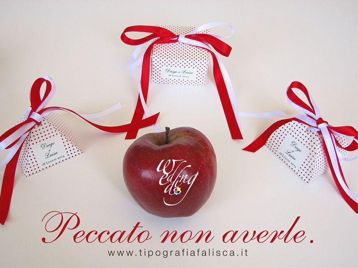 Scatoline portaconfetti Elegant Red... Il peccato è non averle!!