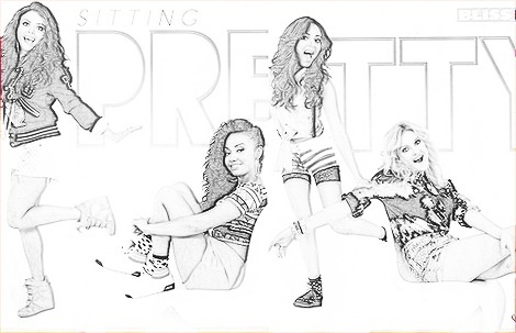 Fashion Sketch Coloring Pages