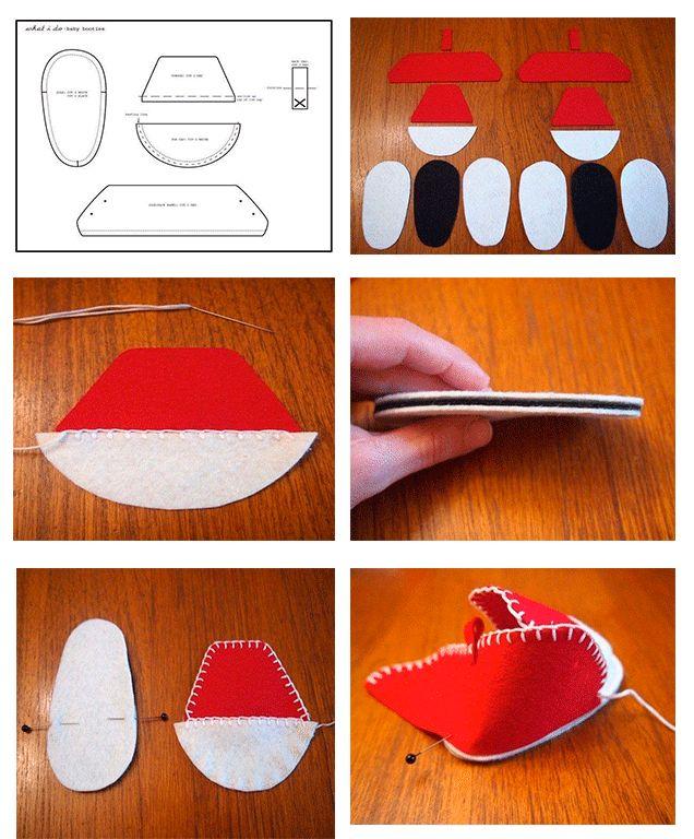 Como hacer zapatos de bebe paso a paso baby shoes - Como forrar muebles con tela ...