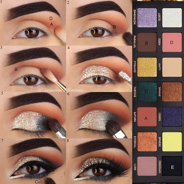 Eyeshadows Used Are From Anastasiabeverlyhills Norvina Latest