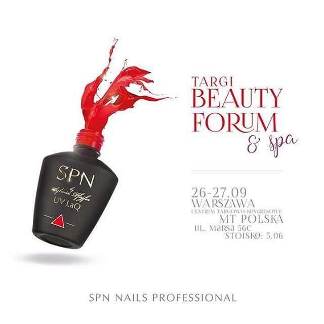 Dokładnie za tydzień widzimy się podczas jesiennej edycji Targów Beauty Forum & Spa! Z uśmiechami na ustach i mnóstwem niespodzianek czekamy na stoisku 5.06. ❤️ ⋅ ⚠️ Jednocześnie informujemy, że w dniach 24-28 września nasz Showroom, a w piątek 25-go także dział sprzedaży online będą nieczynne.  Widzimy się? ❤️ Do zobaczenia w Warszawie ❤️ #spnnails #beautyforum #forumbeautyspa #Warszawa #targiwarszawa #targibeautyforum #manicure #nowoscikosmetyczne #nowosci