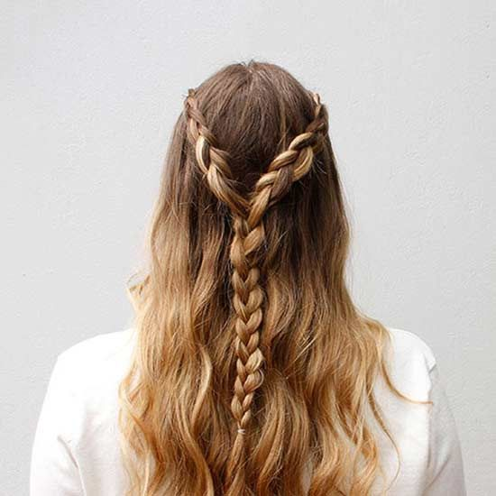 This chic braided 'do might look complicated, but it's easier than you think to DIY!