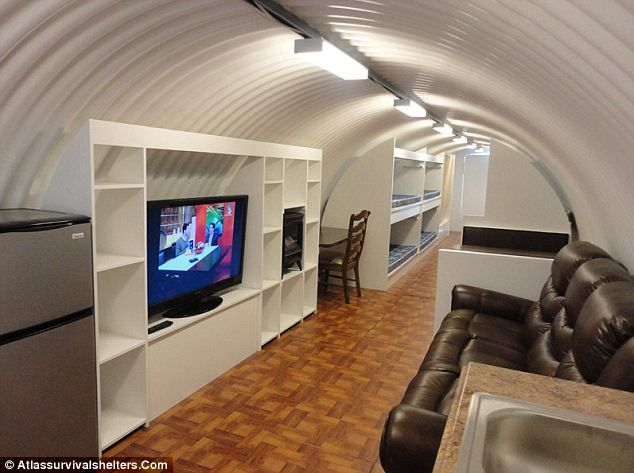 Luxurious Underground Shelter To Survive When SHTF. By Atlas Shelters