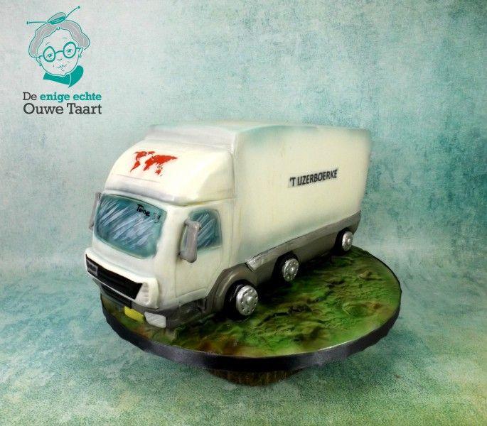 3d taart daf vrachtwagen t ijzerboerke 1