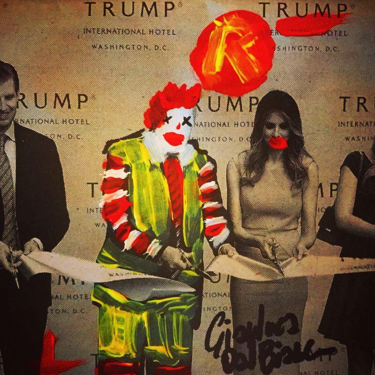 Ronald McDonald for president -