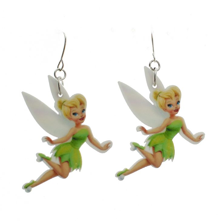2017 New Fashion Girls Kids Gift Women Jewelry Cute Beautiful Faery Dangle Earring For Girl Lady Kids Gift Free Shipping KE06