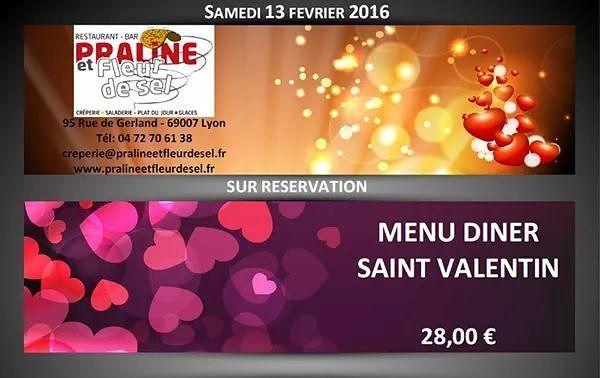 ... menu-saint-valentin-2016/ . En complément de la carte des boissons