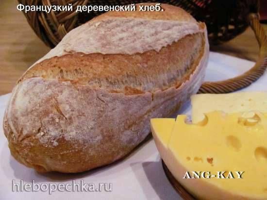 Французкий деревенский хлеб