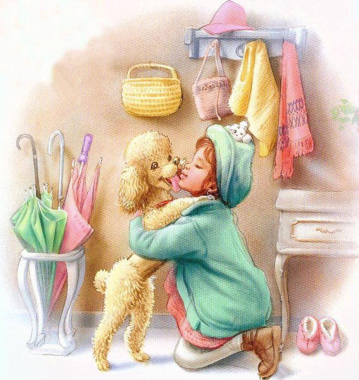 Детские илюстарции. Marcel Marlier. Children's illustrations.
