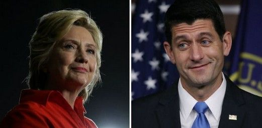 Team Trump is Targeting 'Evil Empire' Political Class Ryan and Clinton Represent - http://conservativeread.com/team-trump-is-targeting-evil-empire-political-class-ryan-and-clinton-represent/
