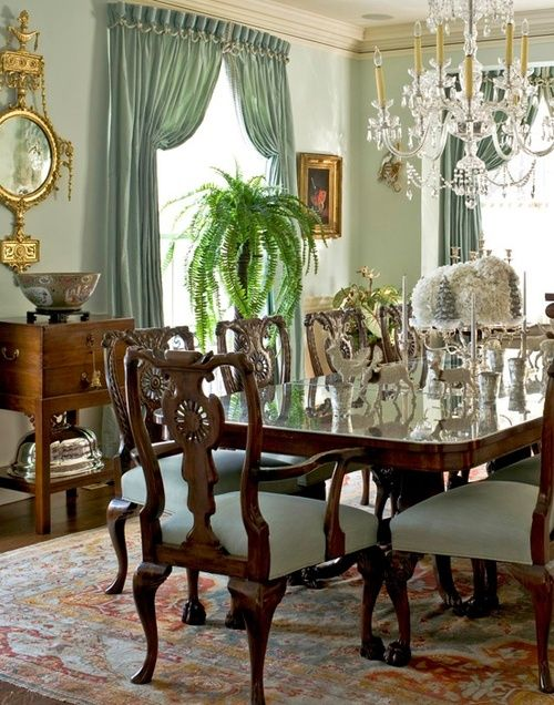 387 best dining images on pinterest dining room for Beautiful dining area