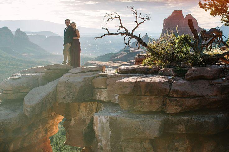 Sedona Arizona engagement shoot