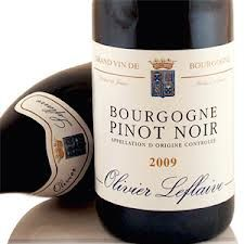 Olivier Le Flaive Bourgogne Pinot Noir - Mid crimson with strawberries and vanilla on the nose – off dry and balanced, elegant and complete.
