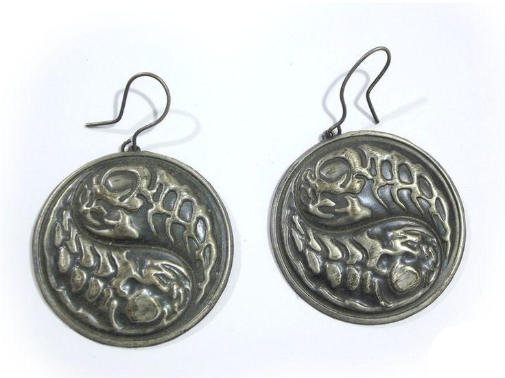 Chandelier Earrings – Earrings jing-jang wheels – a unique product by betulek on DaWanda