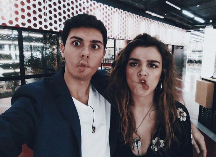 Alfred García and Amaia Romero