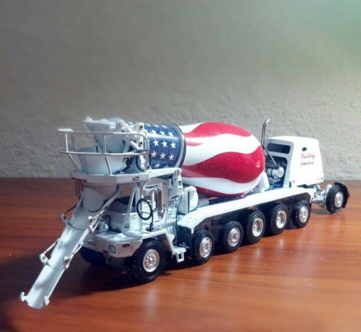 Toys For Trucks Oshkosh : Twh scale oshkosh concrete mixer in quot building america