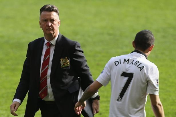 Louis van Gaal admits Angel Di Maria signing was a mistake for Manchester United - Mirror Online