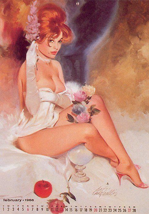 Vintage Pin Up Girls of Fritz Willis Gakkery 1 (3)