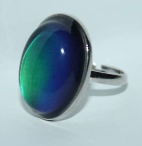 1970's mood ring - I had one of these.  Memories.