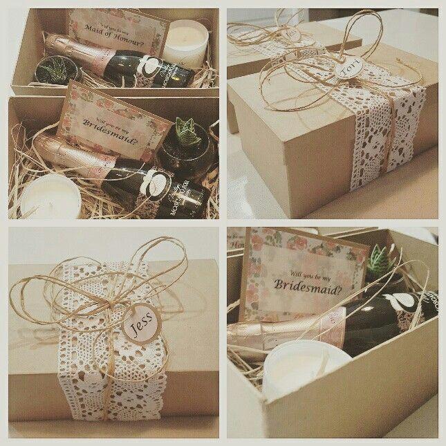 The 25+ Best Bridesmaid Boxes Ideas On Pinterest