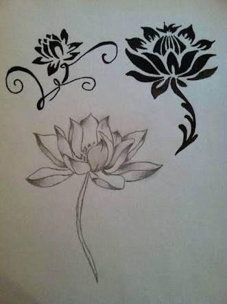 lotus flower tattoo meaning - Google Search
