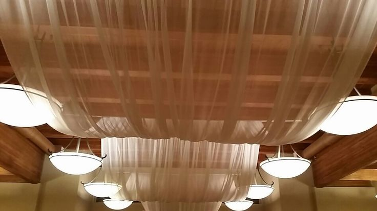 Wedding Ceiling Treatment Canopy - The Cove Lakeside Resort