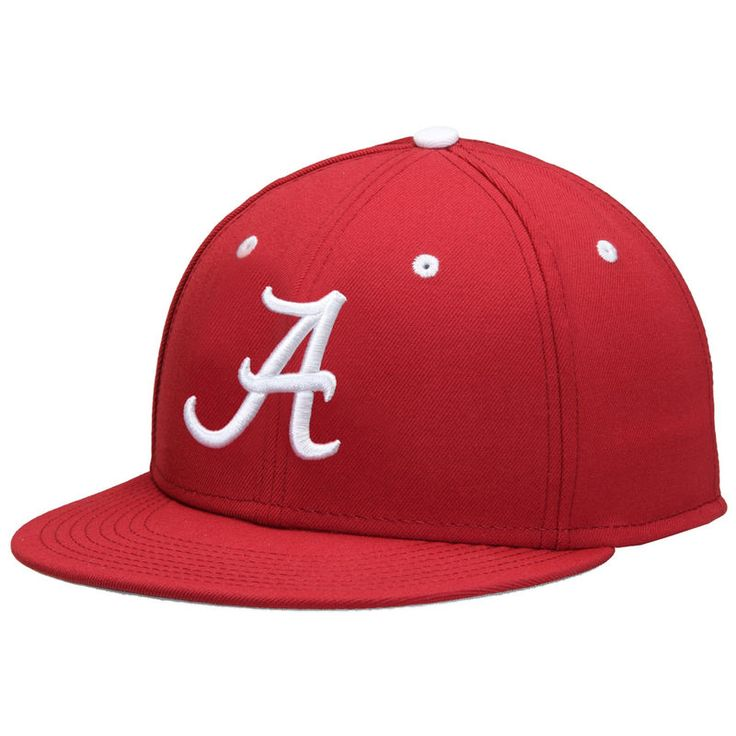 Alabama Crimson Tide Nike True On-Field Fitted Hat - Crimson