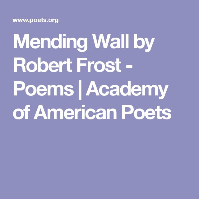 poems by r frost Robert frost: poems themesnature frost places a great deal of importance on nature in all of his collections because of the time he.
